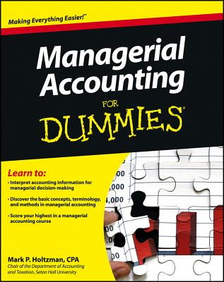 Managerial Accounting for Dummies By Schoenebeck, Karen